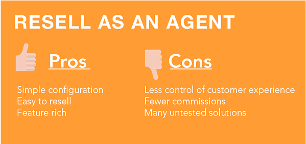 UCaaS Unified Communications as a service resell as an agent pros cons