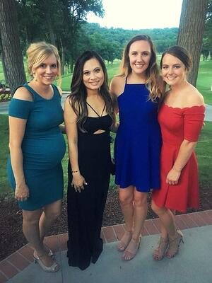 GreatAmerica HR and Recruiting team at Annual Awards Banquet