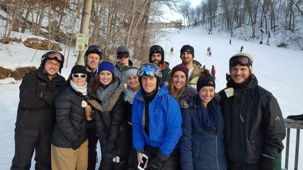 Culture Networking Ski Trip for GreatAmerica