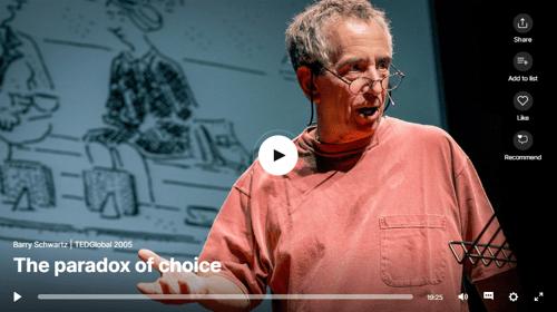 The Paradox of Choice Thumbnail