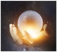 crystal ball - graphic