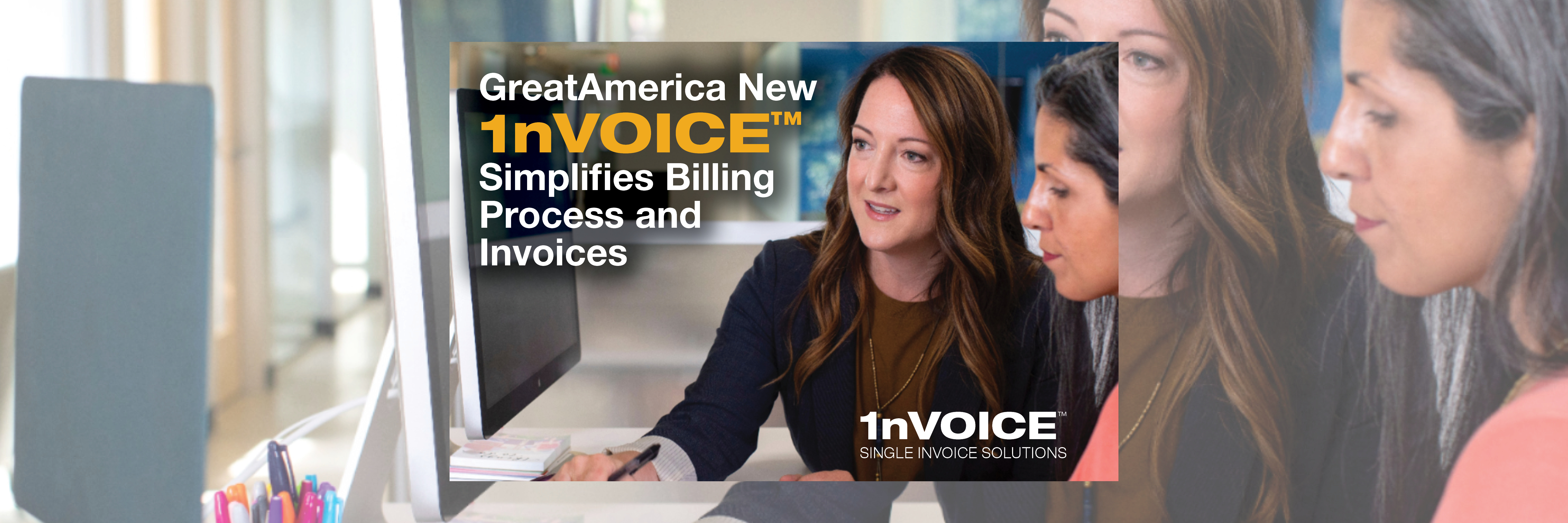 GreatAmerica New 1nVOICE™ Simplifies Billing Process and Invoices