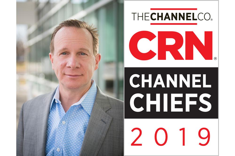 Greg VanDeWalker Named CRN Channel Chief 2019