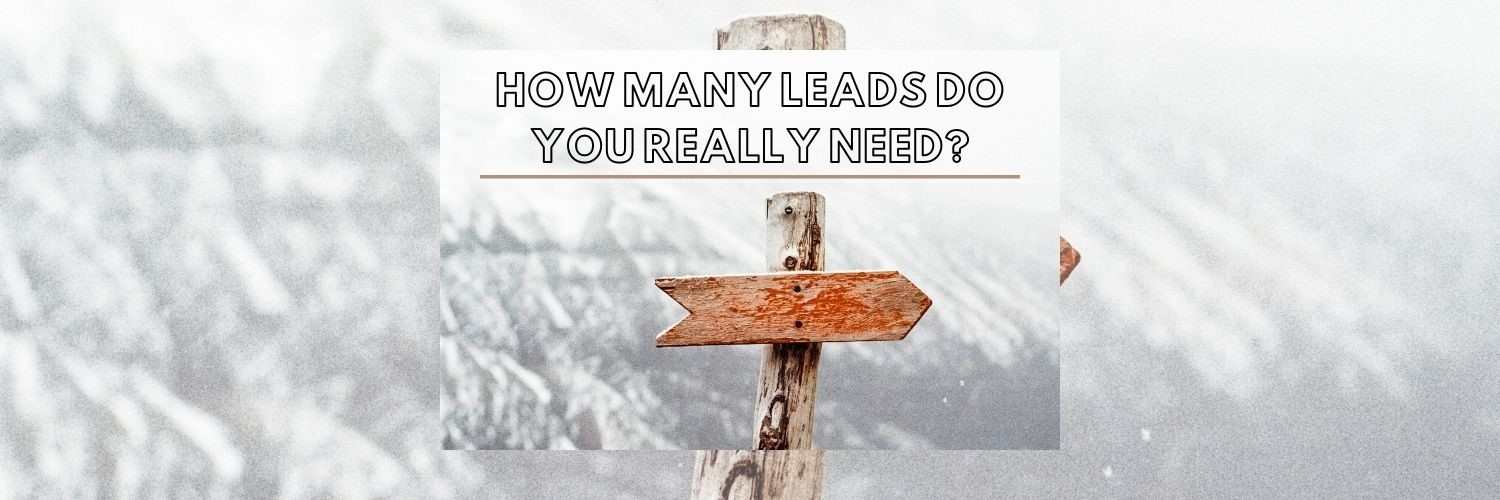 How Many Leads Do You Really Need?