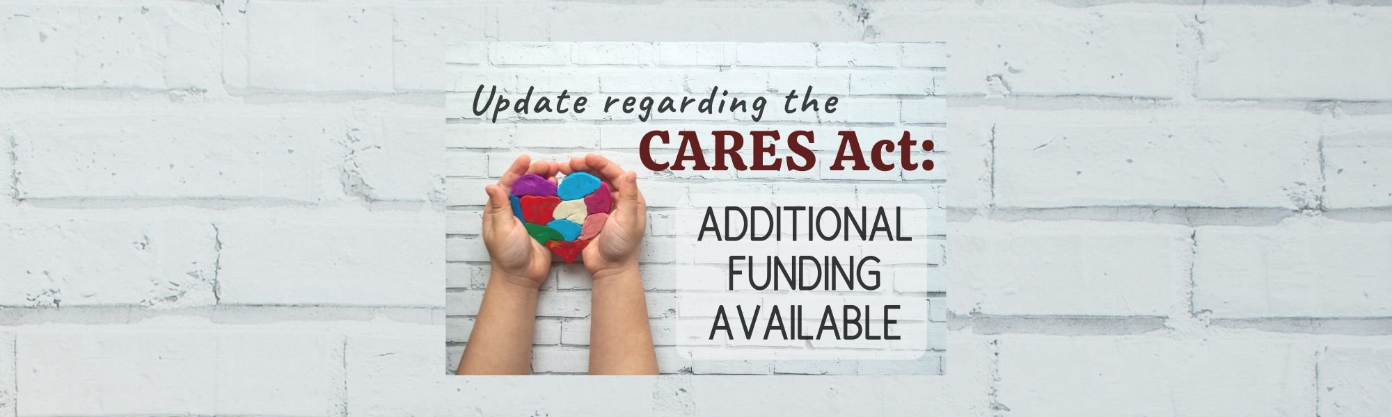 CARES Act Update: Additional Funding Available