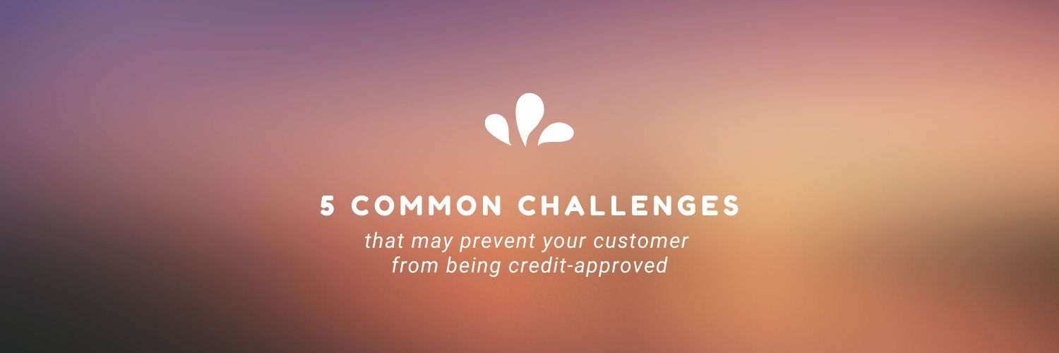 5 Challenges That May Prevent Your Customer from a Credit Approval